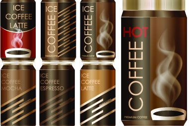 Cold coffee cans