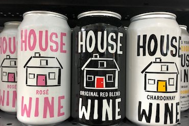 cans of wine